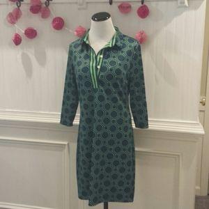 Gretchen Scott Women's Long Sleeve Dress Size S
